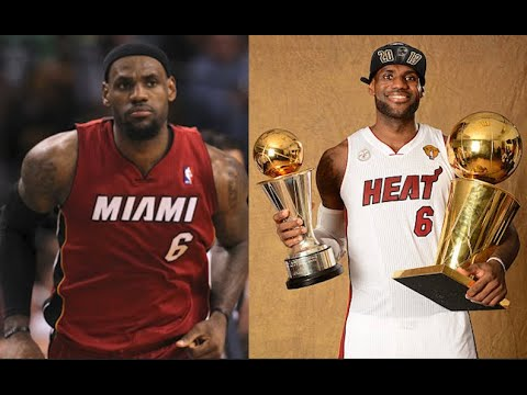 LeBron James 5 Best Playoff Series With Miami Heat Wearing #6