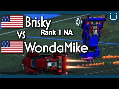 Brisky (Rank 1 NA) vs WondaMike | Rocket League thumbnail