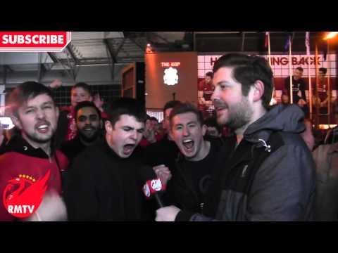 Divock Origi You Are The Man!   Liverpool 4-3 Dortmund   LFC Fan Cams