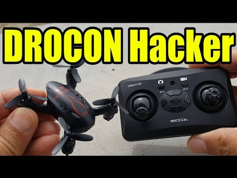 DROCON Hacker 720p Micro Video Drone 📹