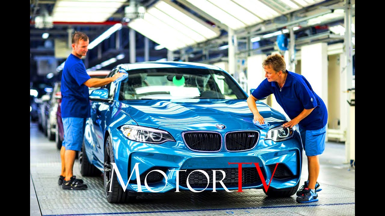 Car Factory Bmw Leipzig Plant L Press Body Shop L Clip Youtube
