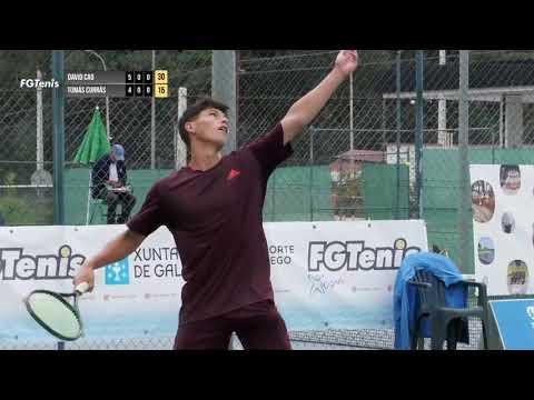 Deportes. Crónica del campeonato Gallego Absoluto de Tenis 26.7.21