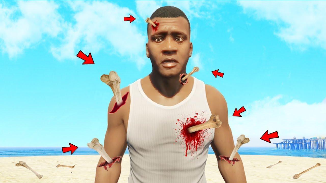 I Broke EVERY BONE in GTA 5!