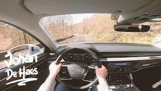 2018 Audi A8 L 50 3.0 TDI 286 hp POV test drive