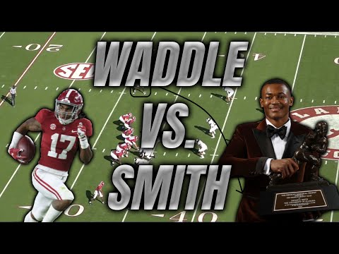 Jaylen Waddle vs. DeVonta Smith: How do the two Alabama receivers stack up as NFL prospects?