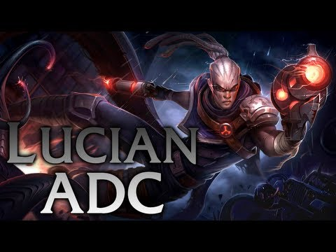 League of Legends | Hired Gun Lucian ADC - Full Game Commentary