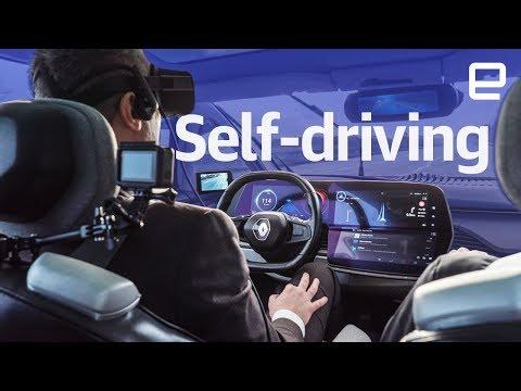 Renault Symbioz self-driving EV hands-on