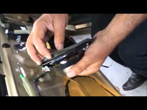 speaker-replacement-redwood-city-lexus-mark-levinson-system-replaced-monney-redwood-city