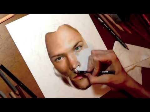 Drawing Jared Padalecki