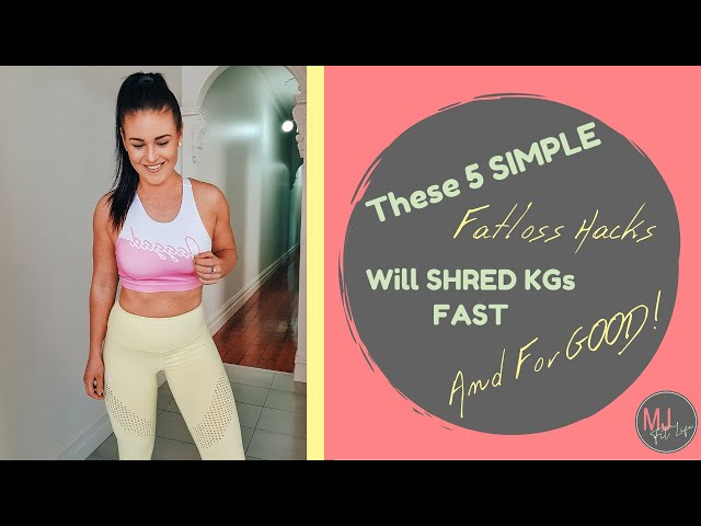 EPISODE 14 - These 5 SIMPLE Steps Will Shred Your Weight FAST & FOR GOOD!