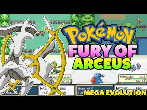 Pokemon Fury Of Arceus [Beta] - GBA Game With Mega ...