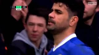 Chelsea vs Arsenal premier league16/17.