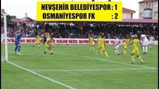 Nevşehir Belediyespor Osmaniyespor FK maçının geniş özeti