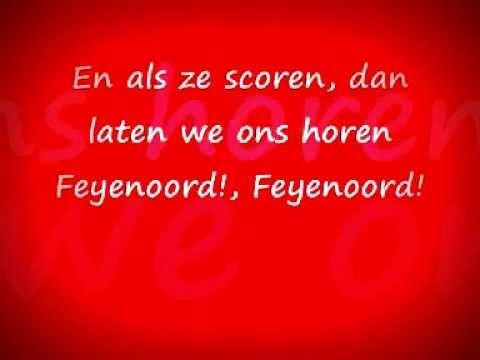 Feyenoord, Super Feyenoord -Legioen 2002 (Lyrics on the screen)