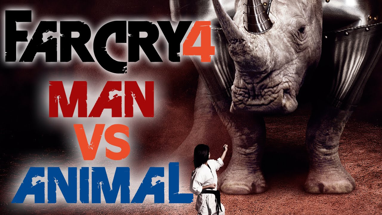 MAN VS ANIMAL FIGHT TO DEATH