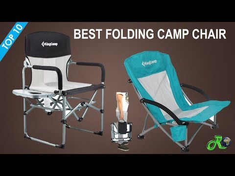Best Folding Camp Chair | Top 10 Best Lightweight Folding Outdoor Camping Chair
