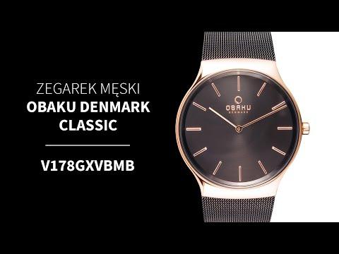 Zegarek Obaku Denmark Classic V178GXVBMB | Zegarownia.pl
