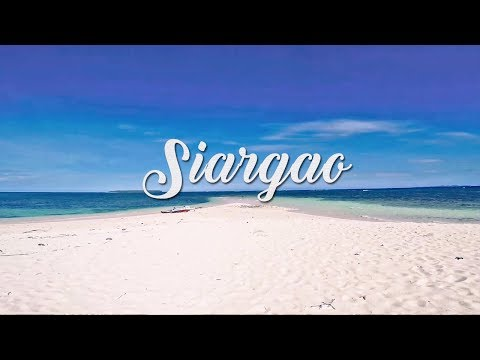 Travel to Siargao Island, Philippines
