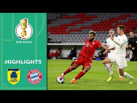 1. FC Düren vs. FC Bayern München 0-3 | Highlights | DFB-Pokal 2020/21 | 1st Round