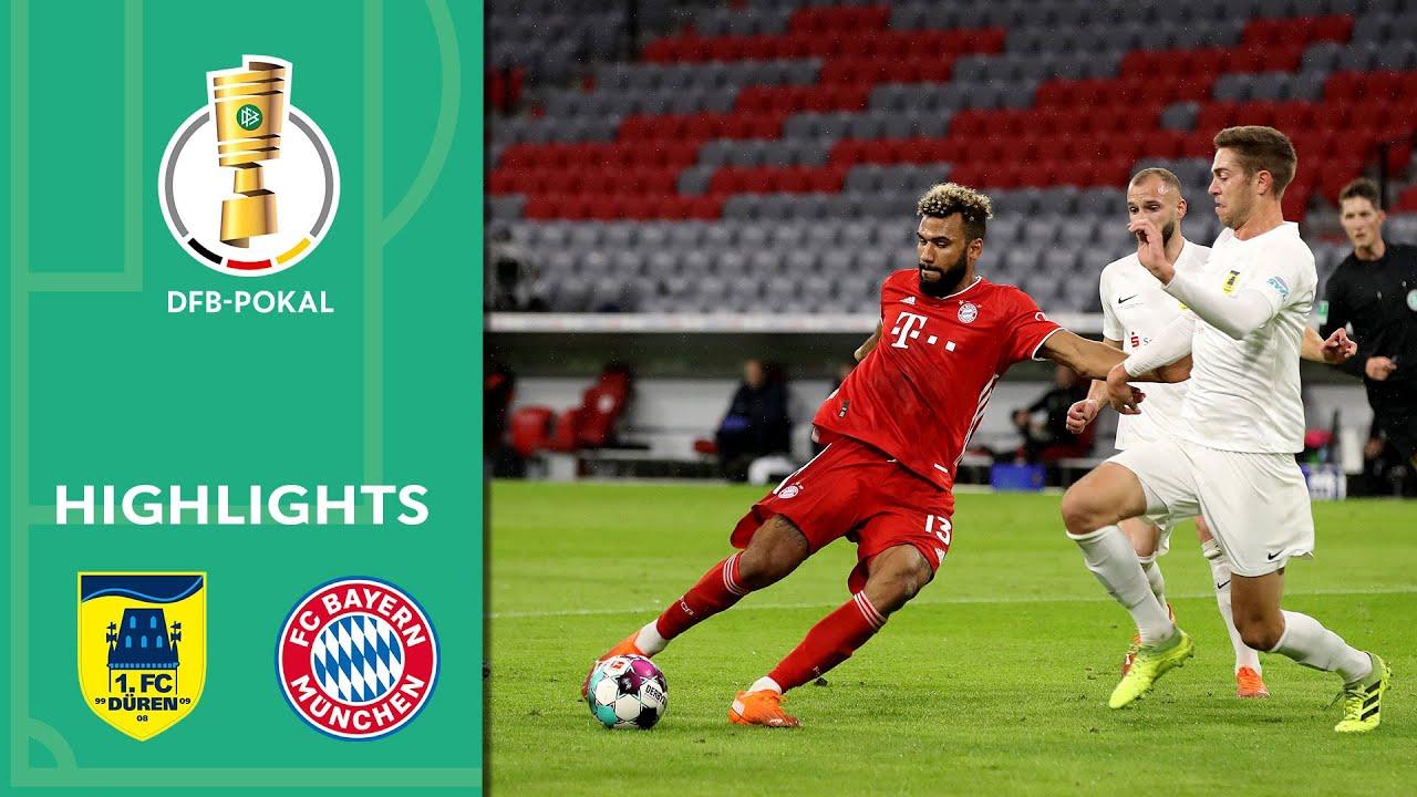 1. FC Düren vs. FC Bayern München 0-3   Highlights   DFB-Pokal 2020/21   1st Round