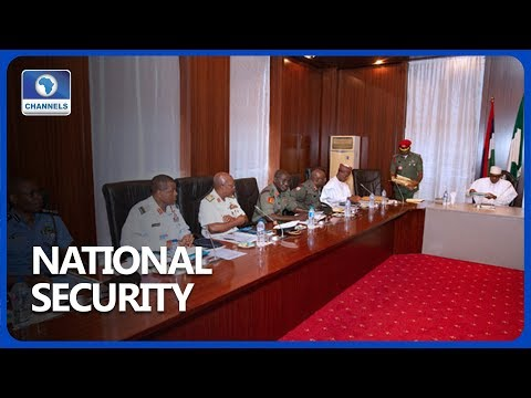 Buhari, Security Chiefs Applaud Operations Across The Country