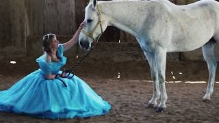 Making of the Cinderella gown