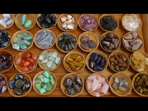 ASMR Time for a Crystal Inventory!