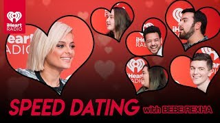 Bebe Rexha Speed Dates With 5 Lucky Fans! | Speed Dating