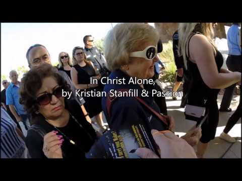 Evangelized funeral of Palm Springs police officers Lesley Z