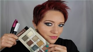 NYX The Suede Shadow Palette, Proof It! & Eyebrow Gel Review/Tutorial Thumbnail