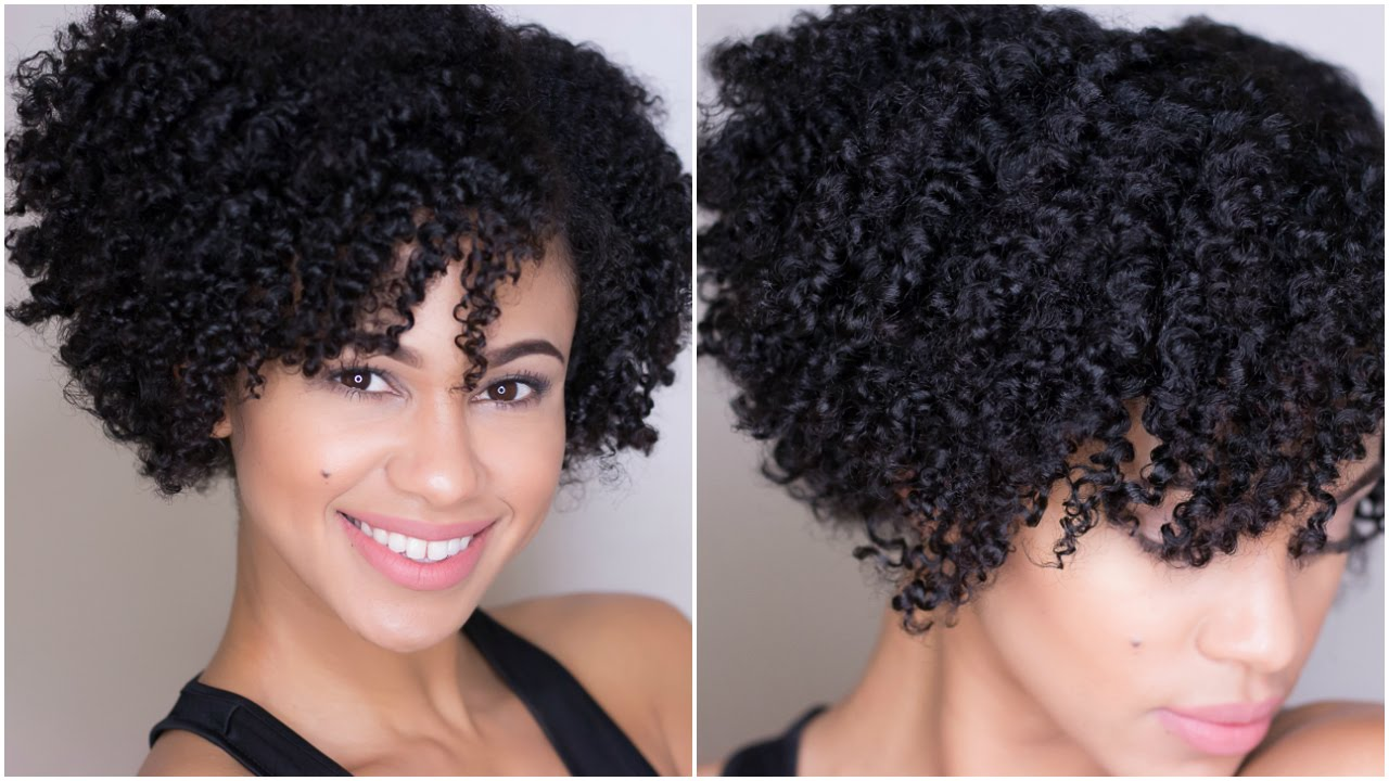 Natural Hair Flat Twist Out On Short Hair Youtube