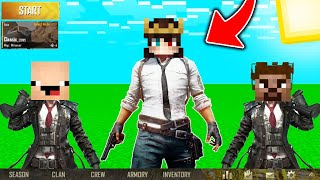 MİNECRAFT'TA PUBG MOBİLE OYNADIK (EFSANE) !! 😱 - Minecraft