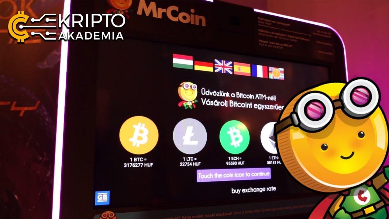 Bitcoin ATM-ek Görögországban