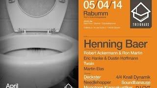 DECKSTER B-DAY RABIMMEL RABUMM @ TREIBHAUS GLÖWEN | 05.04.14