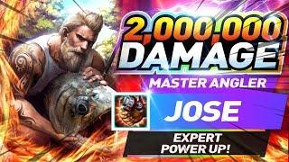 【釣魚大亨 Fishing Strike】 Master Angler Jose Expert Power up! over 2,000,000 Damage ONE OF THE BEST!