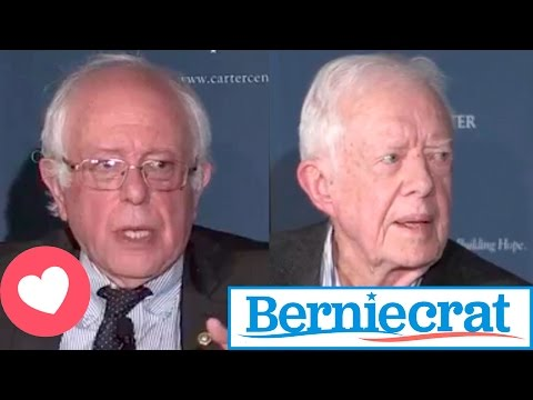FULL CONVERSATION Between Bernie Sanders and Jimmy Carter on Human Rights