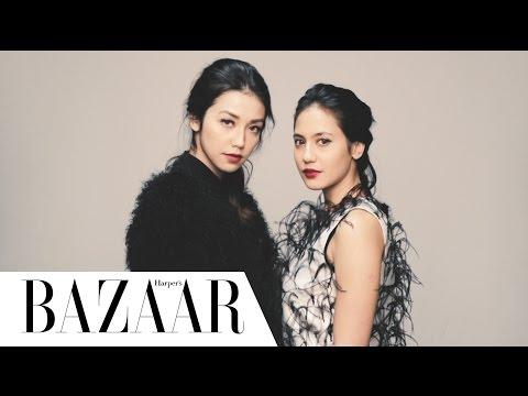 A DAY WITH PEVITA PEARCE & VELOVE VEXIA - HARPER'S BAZAAR INDONESIA