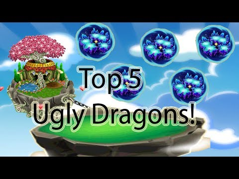 Dragonvale Top 5 Coolest Looking Dragons October 2018