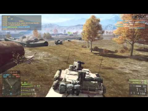Battlefield 4 Tank Gameplay (71-0) | Caspian Border | Conquest Large | M1 ABRAMS