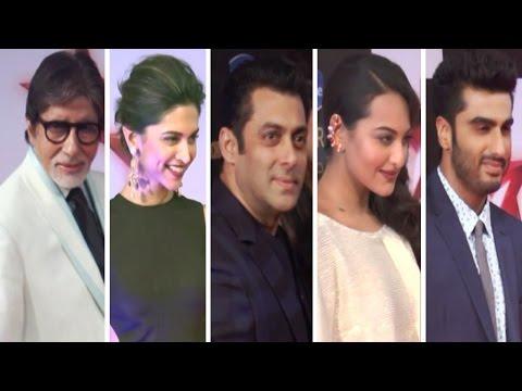 Star Box Office Awards 2014 | Amitabh Bachchan, Deepika Padukone, Salman Khan, Sonakshi Sinha