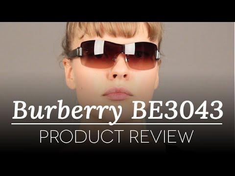 Burberry Sunglasses Review - Burberry BE3043 100313 Sunglasses Review