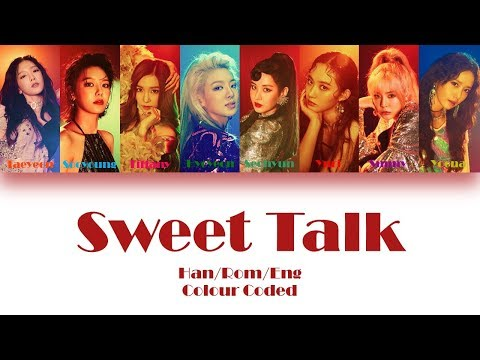 GIRLS' GENERATION (소녀시대) SWEET TALK LYRICS (Han/Rom/Eng) Colour Coded