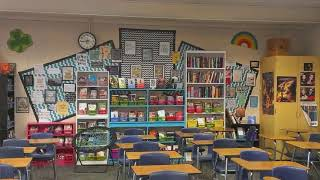 Classroom decoration ideas for teachers high school Art and craft