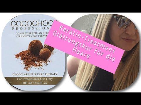 Keratin Haarglättung Selbst Machen Haarversiegelung 5 Monate
