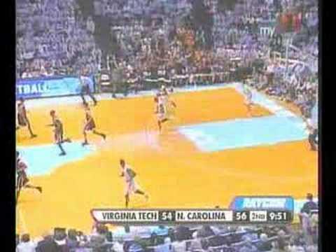 Virginia Tech-UNC Basketball 2.13.07 | 2nd...