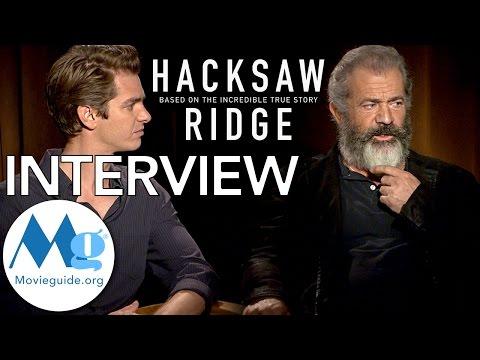 HACKSAW RIDGE Interview feat: Mel Gibson & Andrew Garfield
