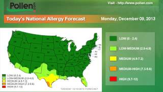 National Allergy Forecast