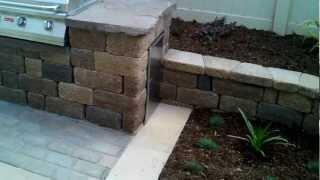 Oxnard Landscape Design, Pavers, Patio, Concrete, Retaining Wall, Bbq Area