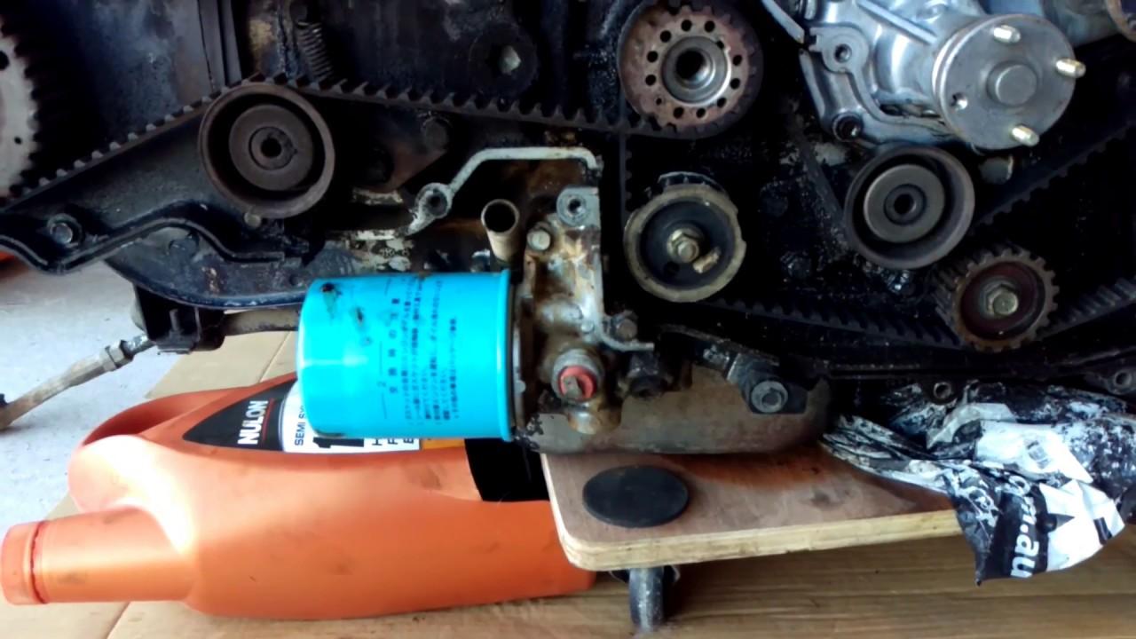 Subaru Ea82 Oil Pump Removal Youtube