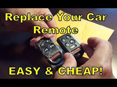 Replace / Fix Your Car Key Remote FOB (DIY Easy & CHEAP!) Honda Odyssey